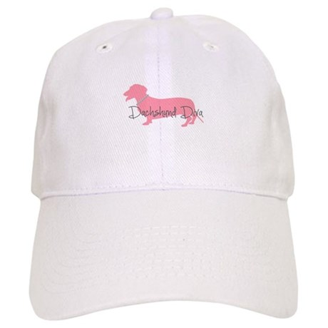 Diamonds Dachshund Diva Cap