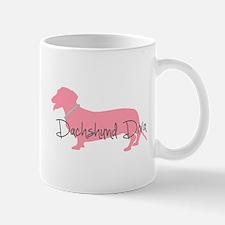 Diamonds Dachshund Diva Mug