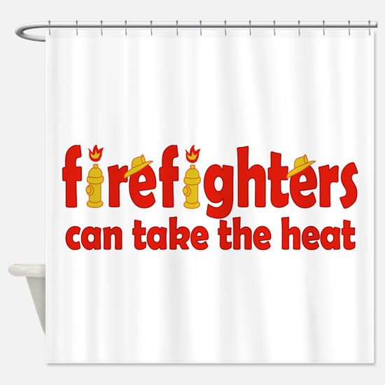 Firefighters Can Take the Heat Shower Curtain