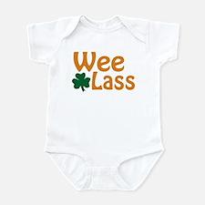 Wee Lass Shamrock Infant Bodysuit