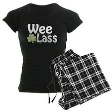 Wee Lass Shamrock Pajamas