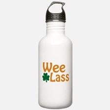 Wee Lass Shamrock Water Bottle