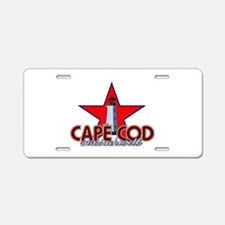 Cape Cod Lighthouse Aluminum License Plate