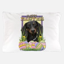 Easter Egg Cookies - Doxie Pillow Case