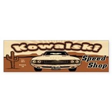 Kowalski Speed Shop Bumper Sticker