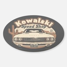 Kowalski Speed Shop Decal