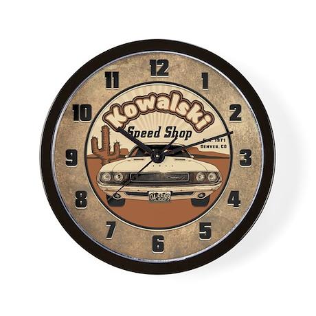 Kowalski Speed Shop Wall Clock