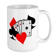 Poker cards Mug