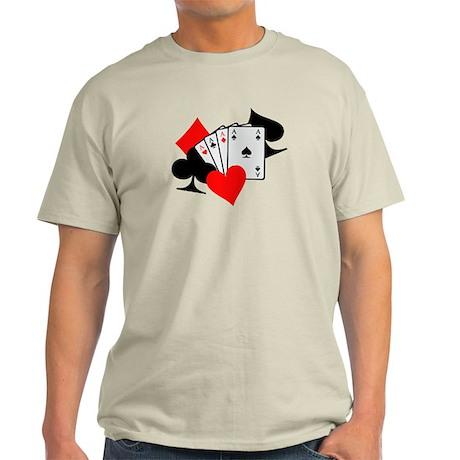Poker cards Light T-Shirt