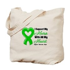 Support Hero Kidney Cancer Tote Bag