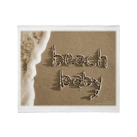 beach baby Sand Script Beach Blanket