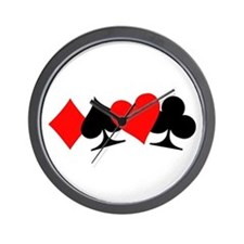 Poker signs Wall Clock