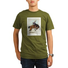 Bronc Organic Men's T-Shirt (dark)