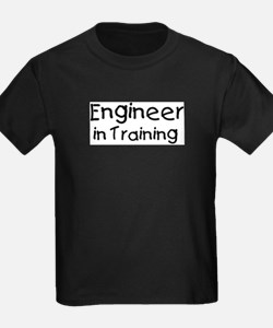 Cute Careers and professions engineer T