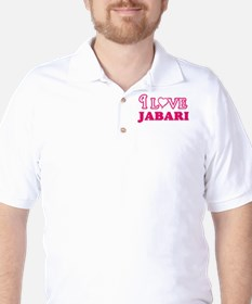 I Love Jabari Golf Shirt