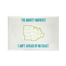 the Mighty Midwest Rectangle Magnet