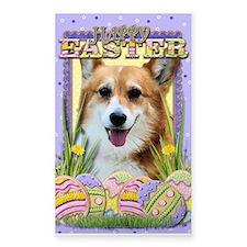 Easter Egg Cookies - Corgi Decal