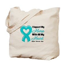 Gynecologic Cancer Support Tote Bag