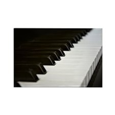 Piano Keys Rectangle Magnet