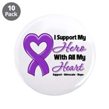 "GIST Cancer Support 3.5"" Button (10 pack)"