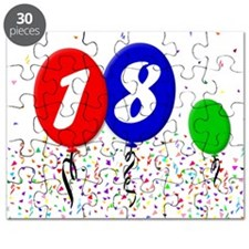 18th Birthday Puzzle