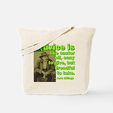 Like Castor Oil Tote Bag