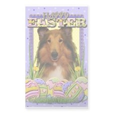 Easter Egg Cookies - Collie Decal