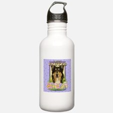 Easter Egg Cookies - Collie Water Bottle