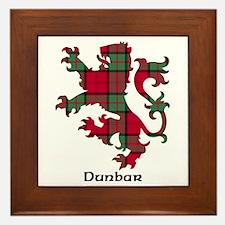 Lion - Dunbar Framed Tile