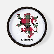 Lion - Dunbar Wall Clock