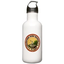 Cranford High Alumni Graphic Water Bottle