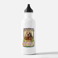 Easter Egg Cookies - Cocker Water Bottle