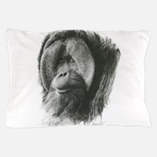 Cute Orangutan Pillow Case