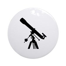 Telescope Ornament (Round)