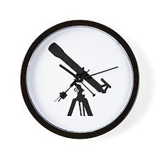 Telescope Wall Clock