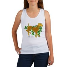 Funny Celtic dog Women's Tank Top
