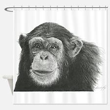 Cute Ape Shower Curtain