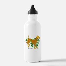 Funny Irish terrier Water Bottle