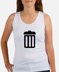 Trash bin Women's Tank Top