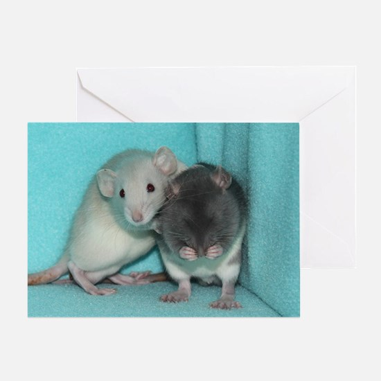 RC's Its Alright Rats Greeting Card