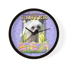 Easter Egg Cookies - Crestie Wall Clock