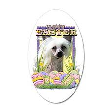 Easter Egg Cookies - Crestie 22x14 Oval Wall Peel