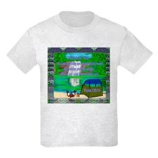 T-Shirt Kids Love to Camp or go to Camp