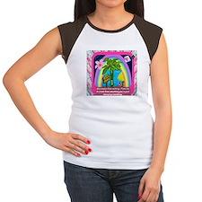 Women's Cap Sleeve T-Shirt Christians are joyful.