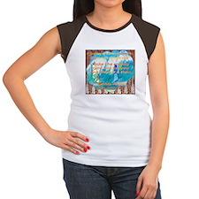 Women's Cap Sleeve T-Shirt A Journey with God