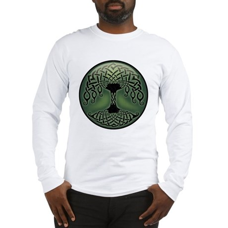 Cup of Green Long Sleeve T-Shirt