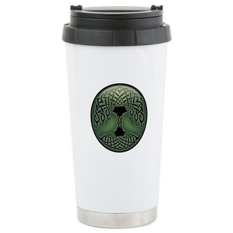 Cup of Green Stainless Steel Travel Mug