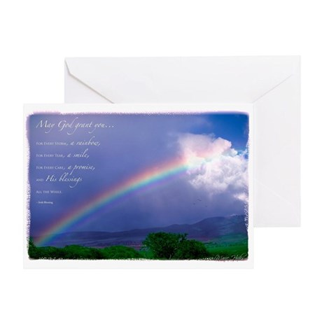 Rainbow Blessing Greeting Card