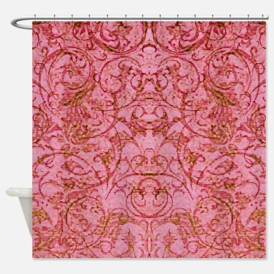 Antique Scrolls Shower Curtain