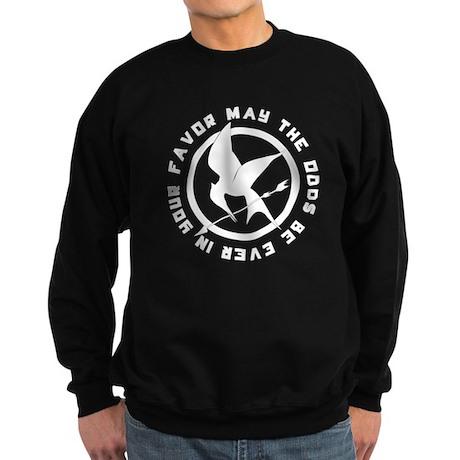 Mockingjay Pin Sweatshirt (dark)